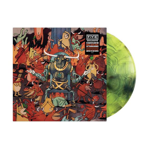 Dance Gavin Dance - Afterburner [Exclusive LP on Black and Yellow Galaxy Vinyl]