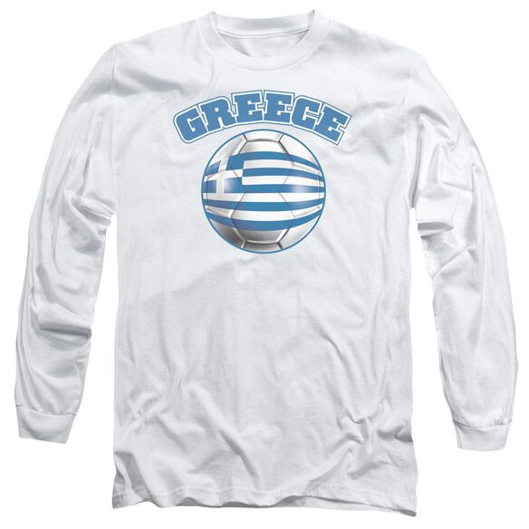 Greece Long Sleeve Adult T-Shirt
