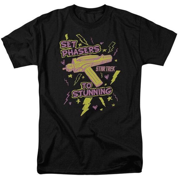 Star Trek Set Phasers Short Sleeve Adult T-Shirt