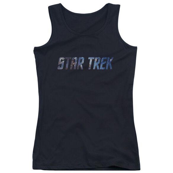 Star Trek Space Logo Juniors Tank Top