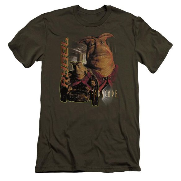 Farscape Rygel Premuim Canvas Adult Slim Fit Military
