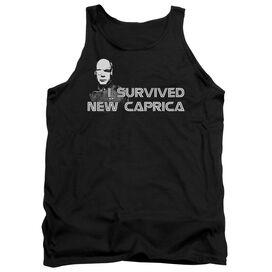 Bsg I Survived New Caprica - Adult Tank - Black