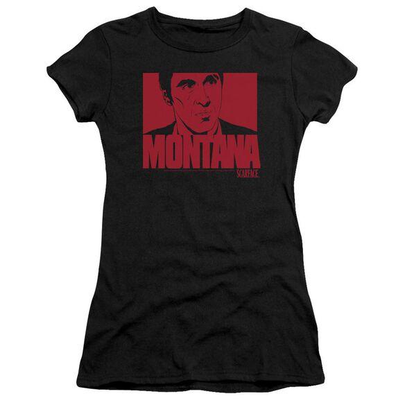 Scarface Montana Face Premium Bella Junior Sheer Jersey
