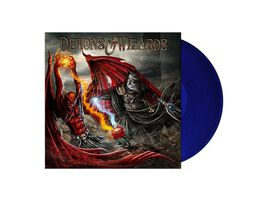 Demons & Wizards - Touched By The Crimson King [Exclusive Transparent Blue Vinyl]