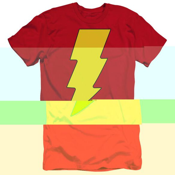 Dc Shazam Logo-premuim Canvas Adult Slim