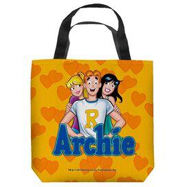 Archie Comics Love Triangle Tote