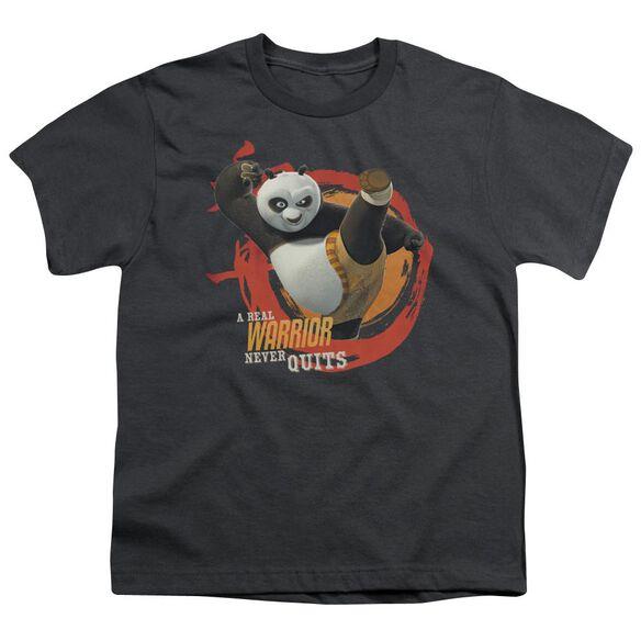 Kung Fu Panda Real Warrior Short Sleeve Youth T-Shirt