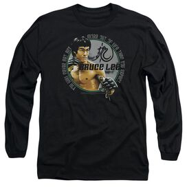 Bruce Lee Expectations Long Sleeve Adult T-Shirt
