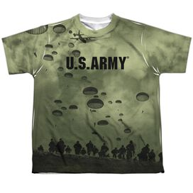 Army Air To Land Short Sleeve Youth Poly Crew T-Shirt