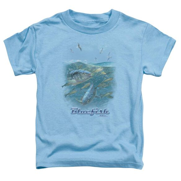 Wildlife Blue Mayhem Short Sleeve Toddler Tee Carolina Blue T-Shirt