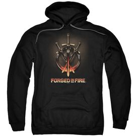 Forged In Fire Swords Adult Pull Over Hoodie