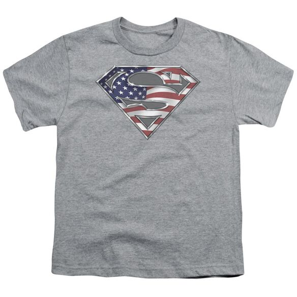 Superman All Short Sleeve Youth Athletic T-Shirt