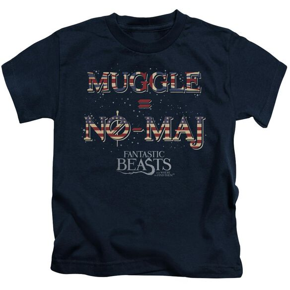 Fantastic Beasts Uk Us No Maj Short Sleeve Juvenile T-Shirt