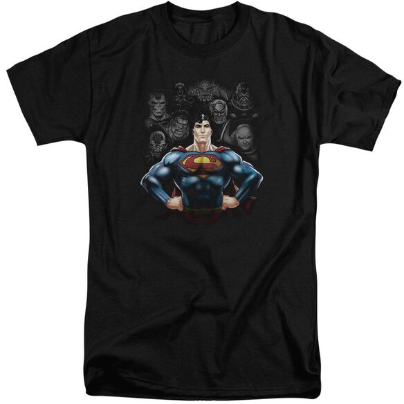 Superman Villains Short Sleeve Adult Tall T-Shirt