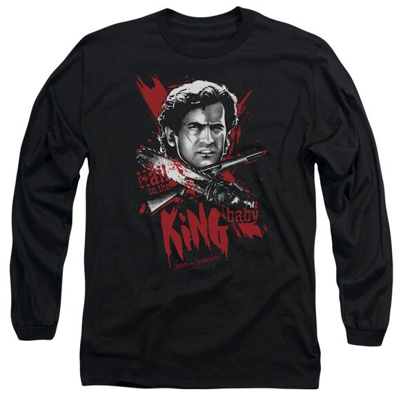 Army Of Darkness Hail To The King Long Sleeve Adult T-Shirt