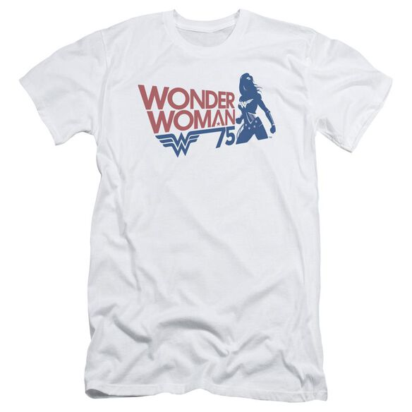 Wonder Woman Ww75 Silhouette Short Sleeve Adult T-Shirt