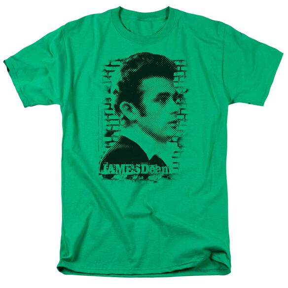 Dean Against The Wall Short Sleeve Adult Kelly T-Shirt