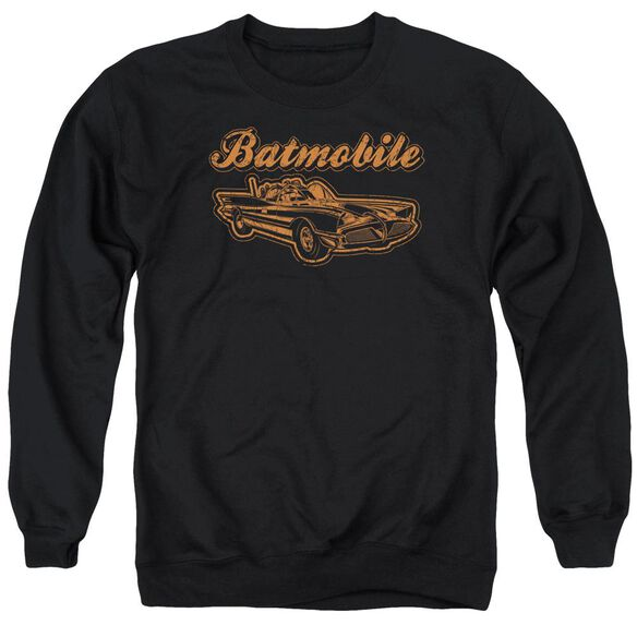 Batman Batmobile Adult Crewneck Sweatshirt