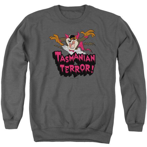 Looney Tunes Taz Terror Adult Crewneck Sweatshirt
