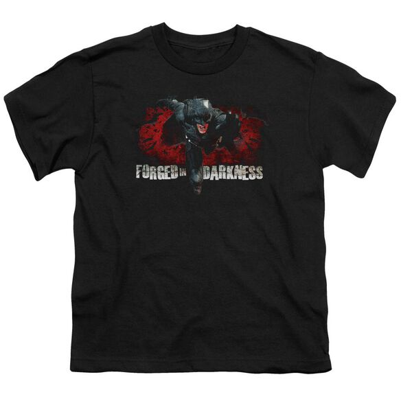 Dark Knight Rises Forged In Darkness Short Sleeve Youth T-Shirt