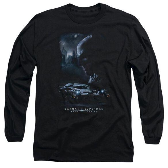 Batman V Superman Gotham Knight Long Sleeve Adult T-Shirt