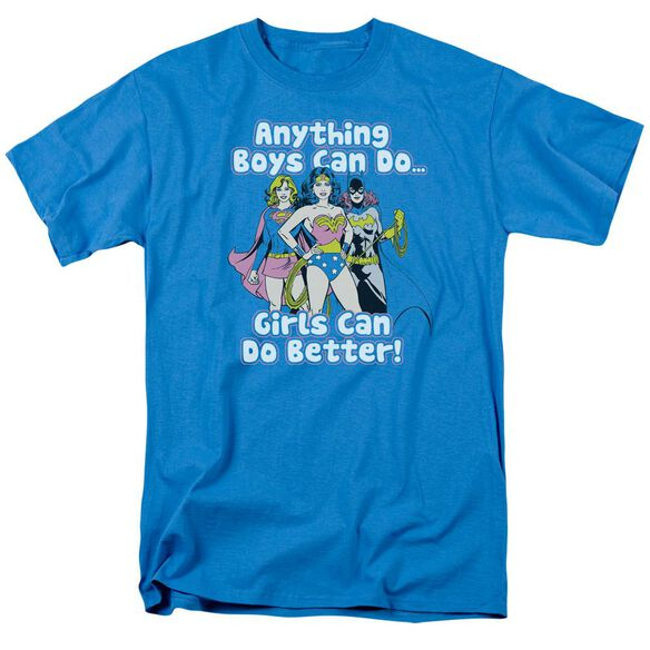 Dc Girls Can Do It Better Short Sleeve Adult T-Shirt