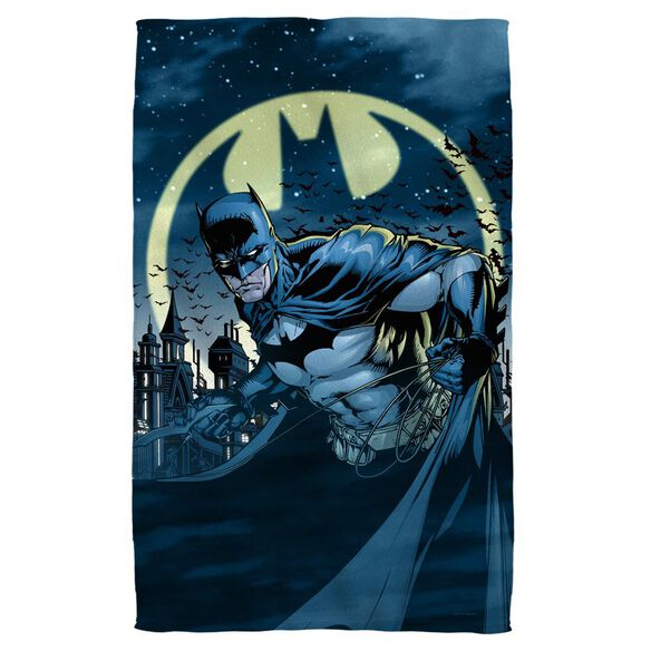 Batman Heed The Call Towel White