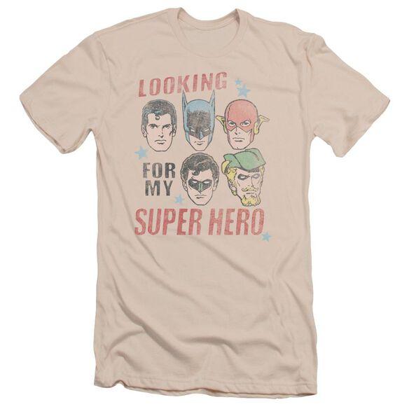 Jla My Super Hero Short Sleeve Adult T-Shirt