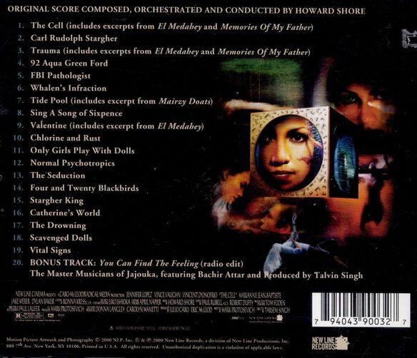 The Cell Original Score