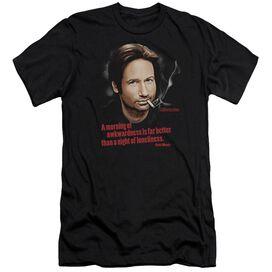 CALIFORNICATION MORNING NIGHT - S/S ADULT 30/1 - BLACK T-Shirt
