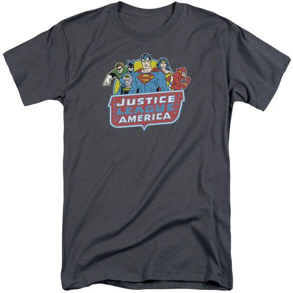 Dc 8 Bit League Short Sleeve Adult Tall T-Shirt