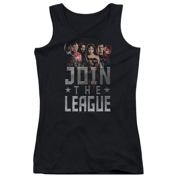 Justice League Movie Join The League Juniors Tank Top