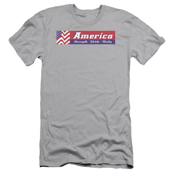 STRENGTH PRIDE UNITY - ADULT 30/1 - SILVER T-Shirt
