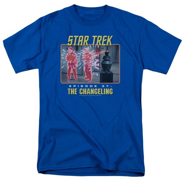 St Original The Changeling Short Sleeve Adult Royal T-Shirt