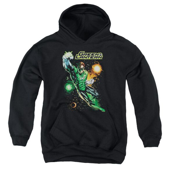Jla Galactic Guardian Youth Pull Over Hoodie