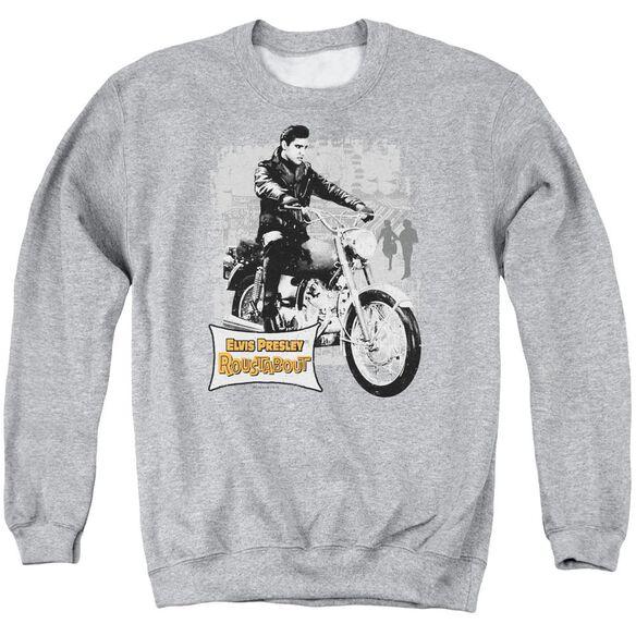 Elvis Roustabout Poster Adult Crewneck Sweatshirt Athletic