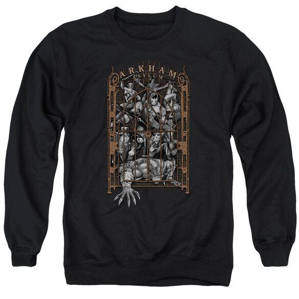 Batman Arkham's Gate Adult Crewneck Sweatshirt