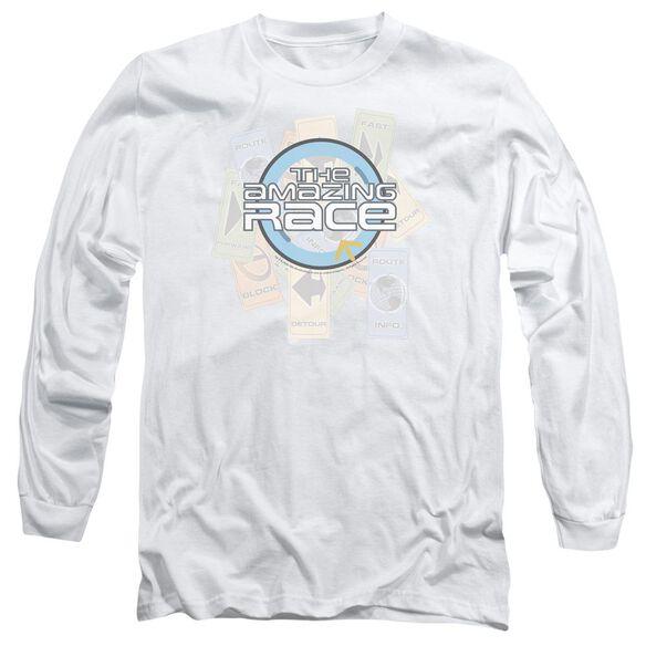 AMAZING RACE THE RACE-L/S T-Shirt