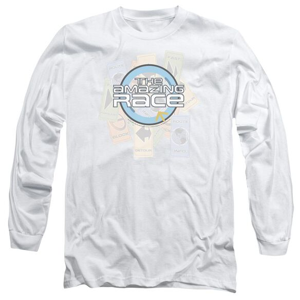 Amazing Race The Race Long Sleeve Adult T-Shirt