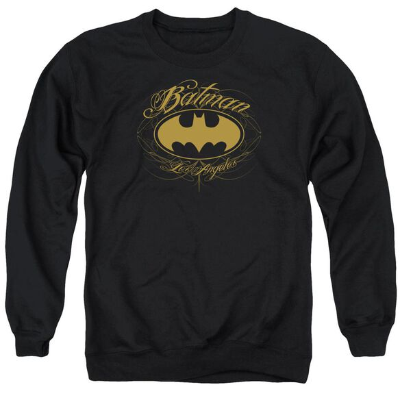 Batman Batman La Adult Crewneck Sweatshirt