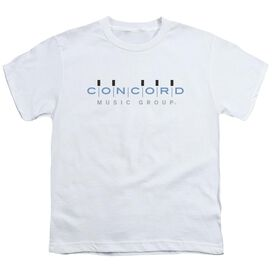 Concord Music Concord Logo Short Sleeve Youth T-Shirt