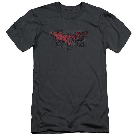 Dark Knight Rises Fear Logo Short Sleeve Adult T-Shirt