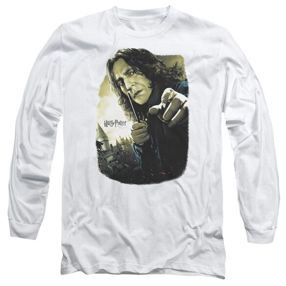 Harry Potter Snape Poster Long Sleeve Adult T-Shirt