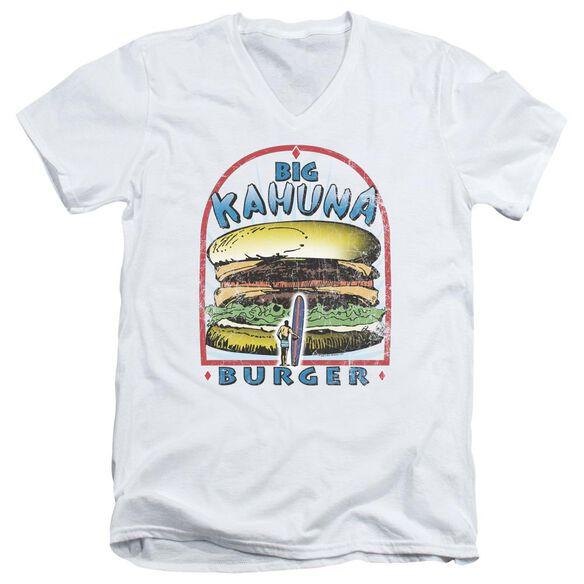 Pulp Fiction Big Kahuna Burger Short Sleeve Adult V Neck T-Shirt