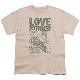 Green Lantern Love Stinks Short Sleeve Youth T-Shirt
