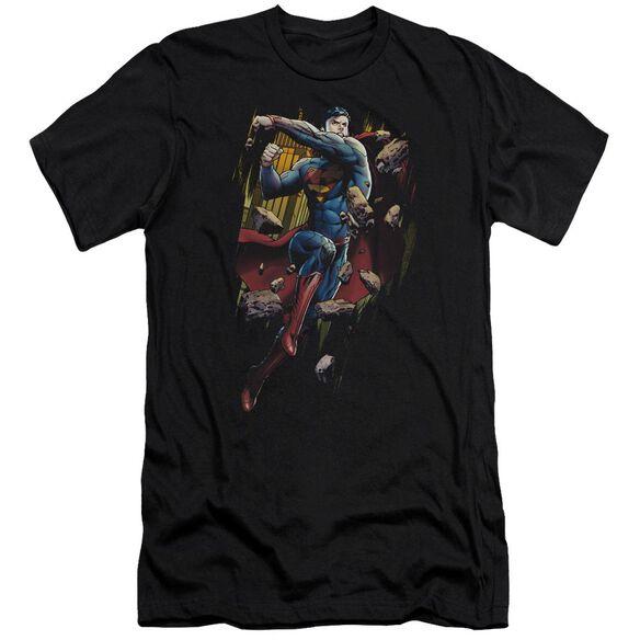 Superman Flying Determination Premuim Canvas Adult Slim Fit