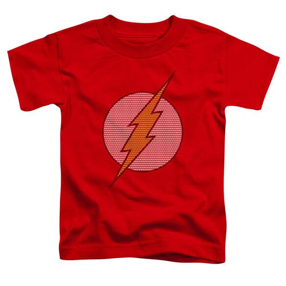 Dc Flash Little Logos Short Sleeve Toddler Tee Red Lg T-Shirt
