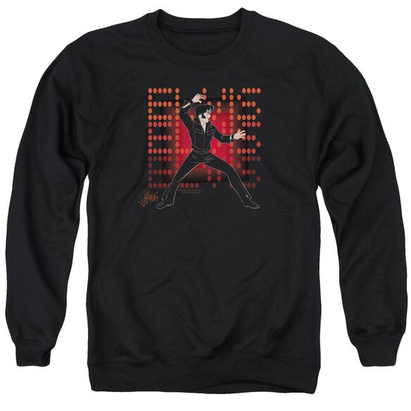 Elvis 69 Anime Adult Crewneck Sweatshirt