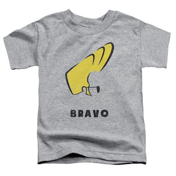Johnny Bravo Johnny Hair Short Sleeve Toddler Tee Athletic Heather T-Shirt