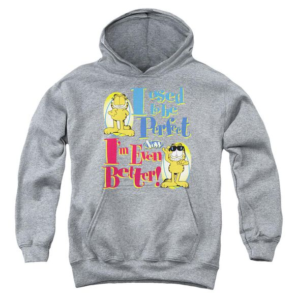Garfield Even Better Youth Pull Over Hoodie